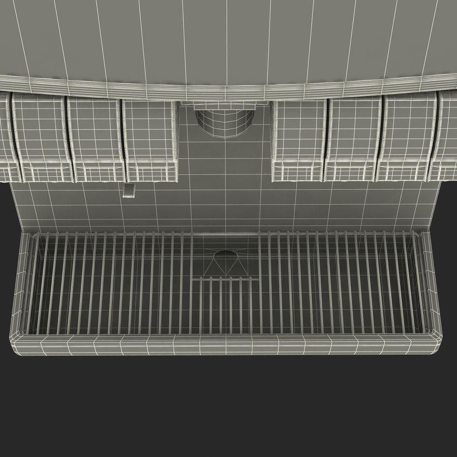 분수 음료 기계 royalty-free 3d model - Preview no. 19