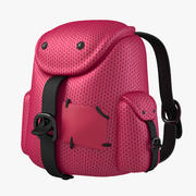 Рюкзак Розовый 3d model