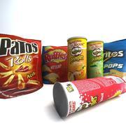 Chips Produkter 3d model