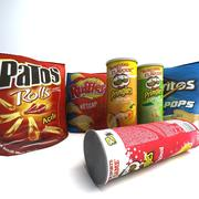 Chips Products 3d model