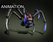 Monstr Spinne 3d model