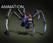 괴물 거미 3d model