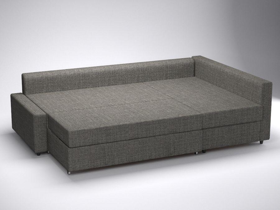 Corner sofa-bed FRIHETEN of IKEA 3D Model $40 - .obj .fbx ...
