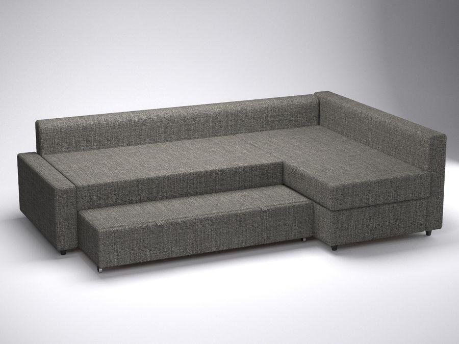 Ikea Credenza Ad Angolo : Divano ad angolo friheten di ikea modello d obj fbx ds