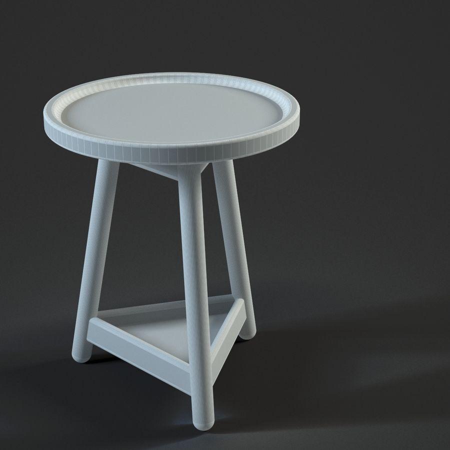 Прикроватный столик royalty-free 3d model - Preview no. 9