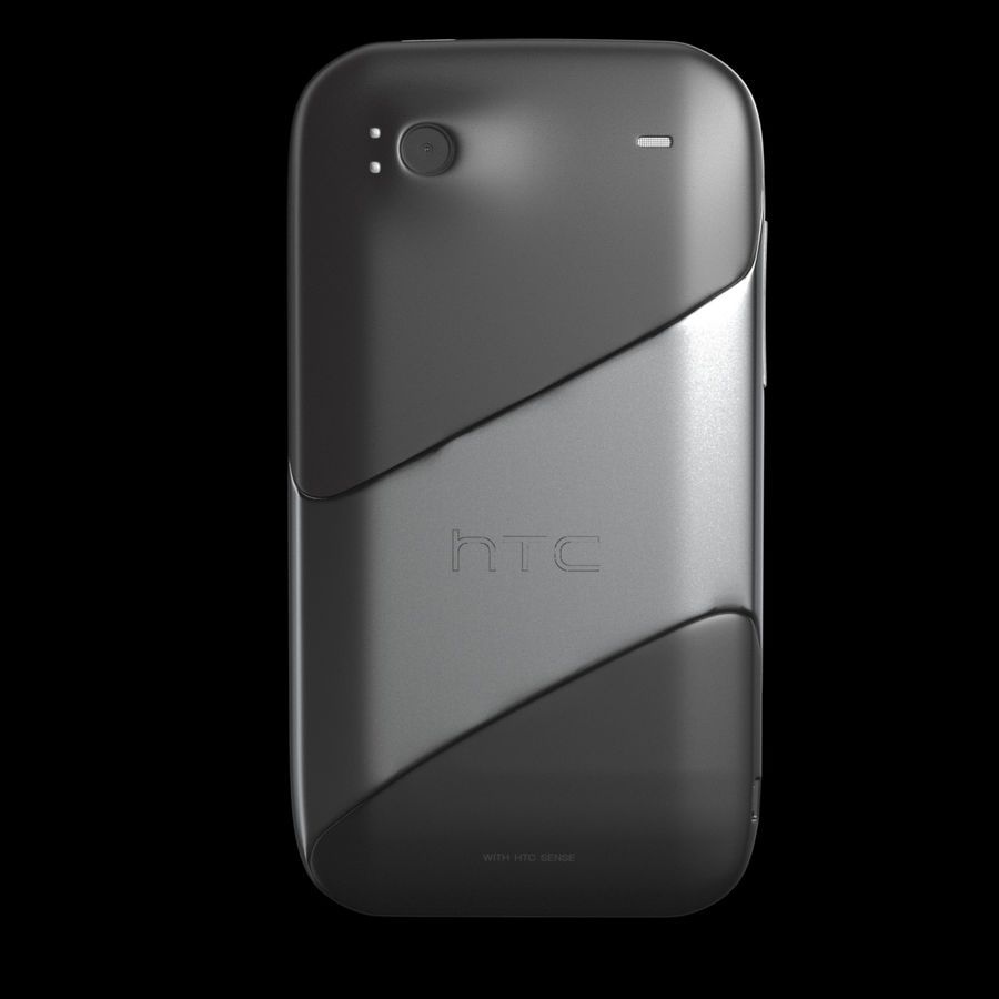 HTC Sensation 4G T-Mobile Smart Phone royalty-free 3d model - Preview no. 10