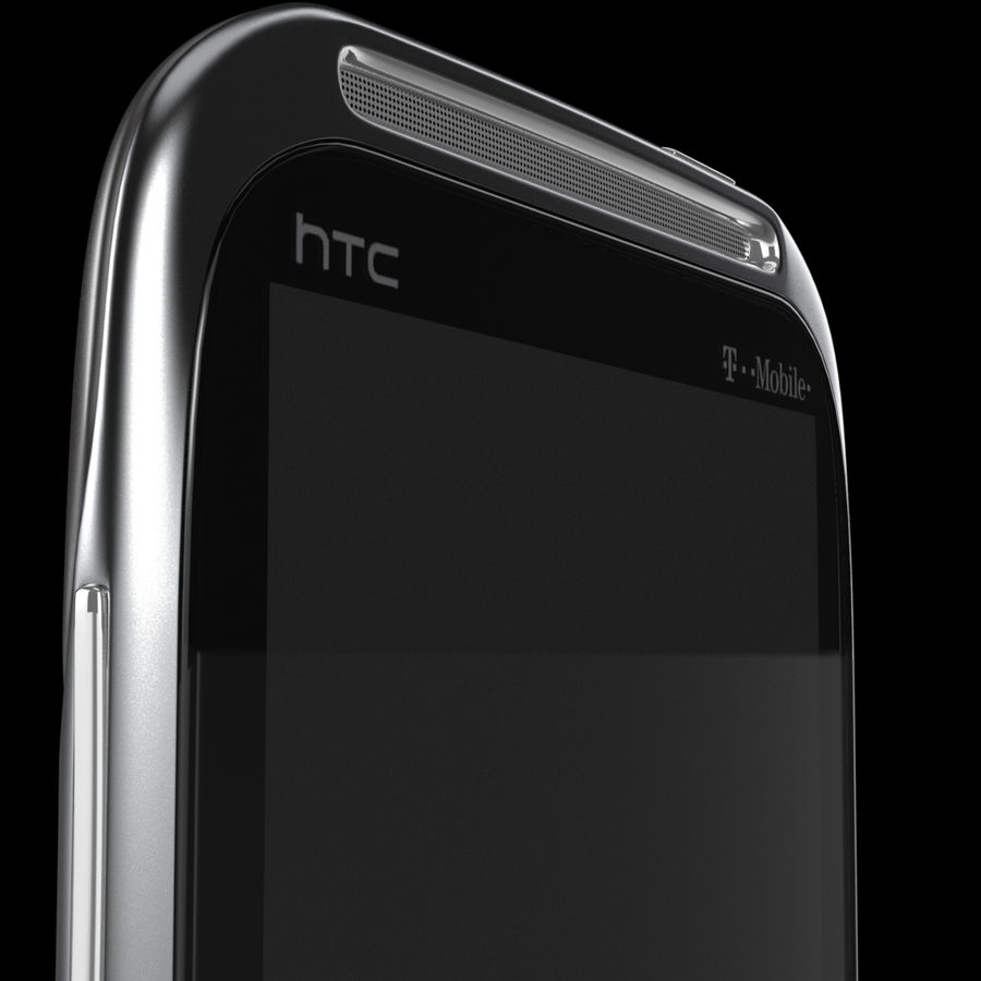 HTC Sensation 4G T-Mobile Smart Phone royalty-free 3d model - Preview no. 9