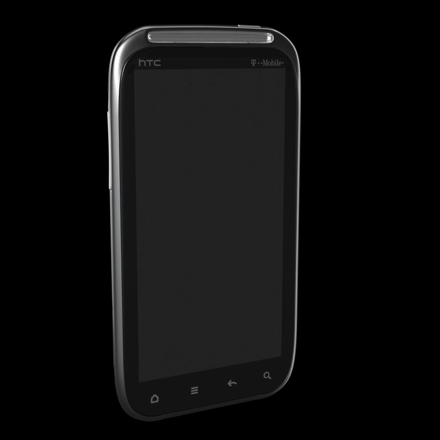 HTC Sensation 4G T-Mobile Smart Phone royalty-free 3d model - Preview no. 6