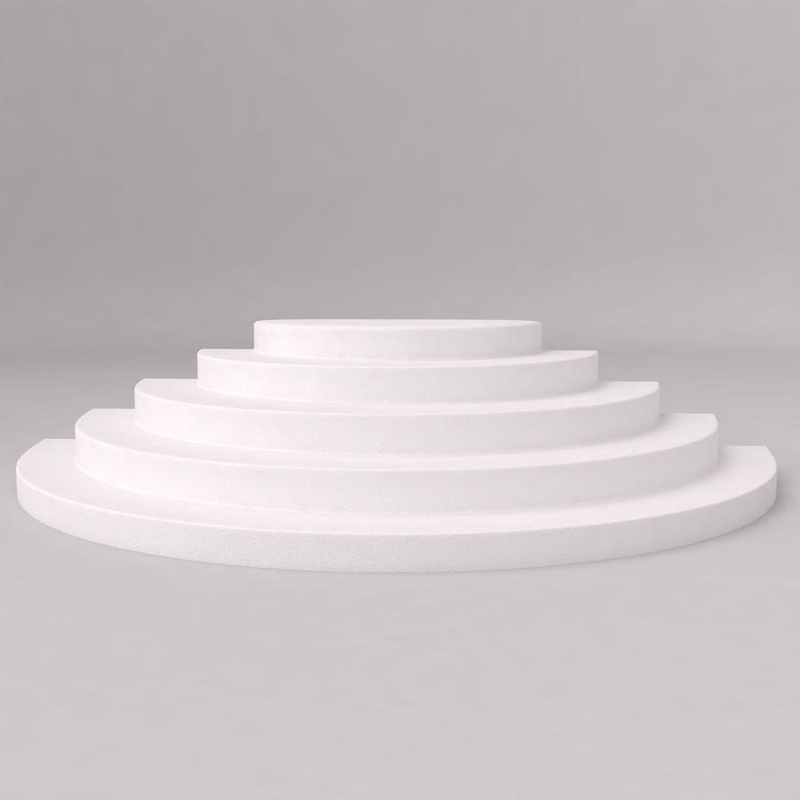 Flera trappor royalty-free 3d model - Preview no. 6