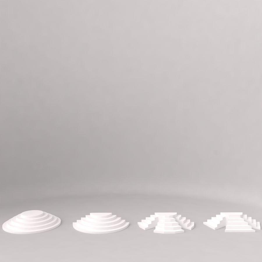 Flera trappor royalty-free 3d model - Preview no. 4