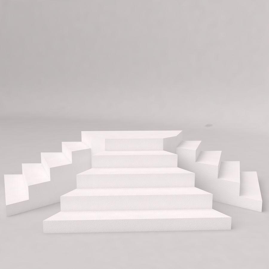 Flera trappor royalty-free 3d model - Preview no. 3