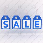 Sale Tags 3d model
