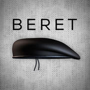 贝雷帽 3d model