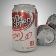 Dr Pepper Can 3d model