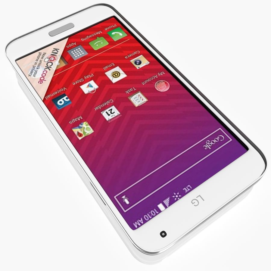 LG Volt royalty-free 3d model - Preview no. 3