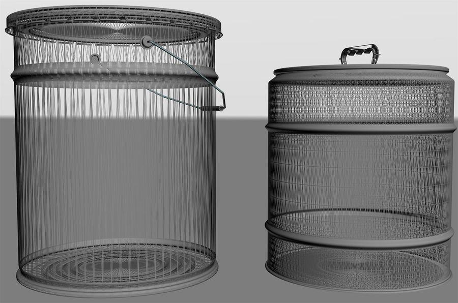 容器 royalty-free 3d model - Preview no. 3