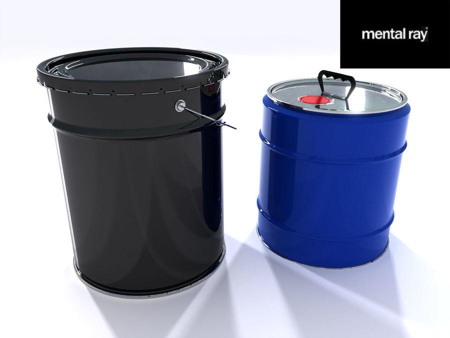 容器 royalty-free 3d model - Preview no. 11