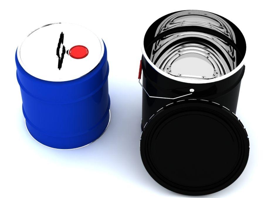 容器 royalty-free 3d model - Preview no. 7
