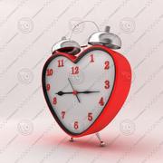Reloj del corazón modelo 3d