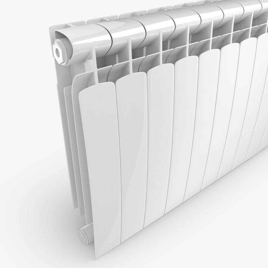 Modern Radyatör 2 royalty-free 3d model - Preview no. 4