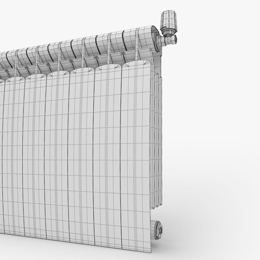 Modern Radyatör 2 royalty-free 3d model - Preview no. 6