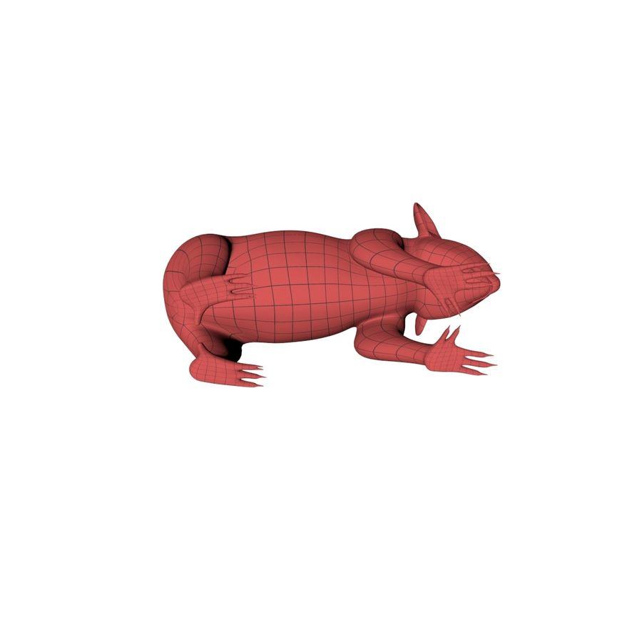 Malha base urso coala royalty-free 3d model - Preview no. 6