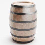 Barrel 3d model 3d model