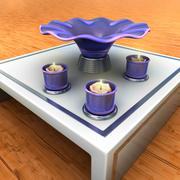 Vaas en kaarsenhouder 3d model
