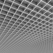 Padrão de teto de escritório Gril 3d model