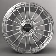 带有徽标的Mansory R 22铝合金轮毂 3d model