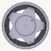 Borbet R14f合金 3d model