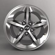 Stop Hyundai z logo 3d model