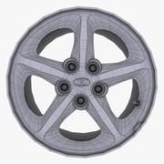 ロゴ付きヒュンダイ合金 3d model