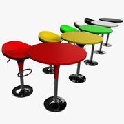столовый набор 3d model