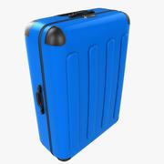 bagage bleu 3d model