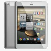 Android白色PC平板电脑7 3d model