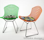 幾何学的な椅子 3d model