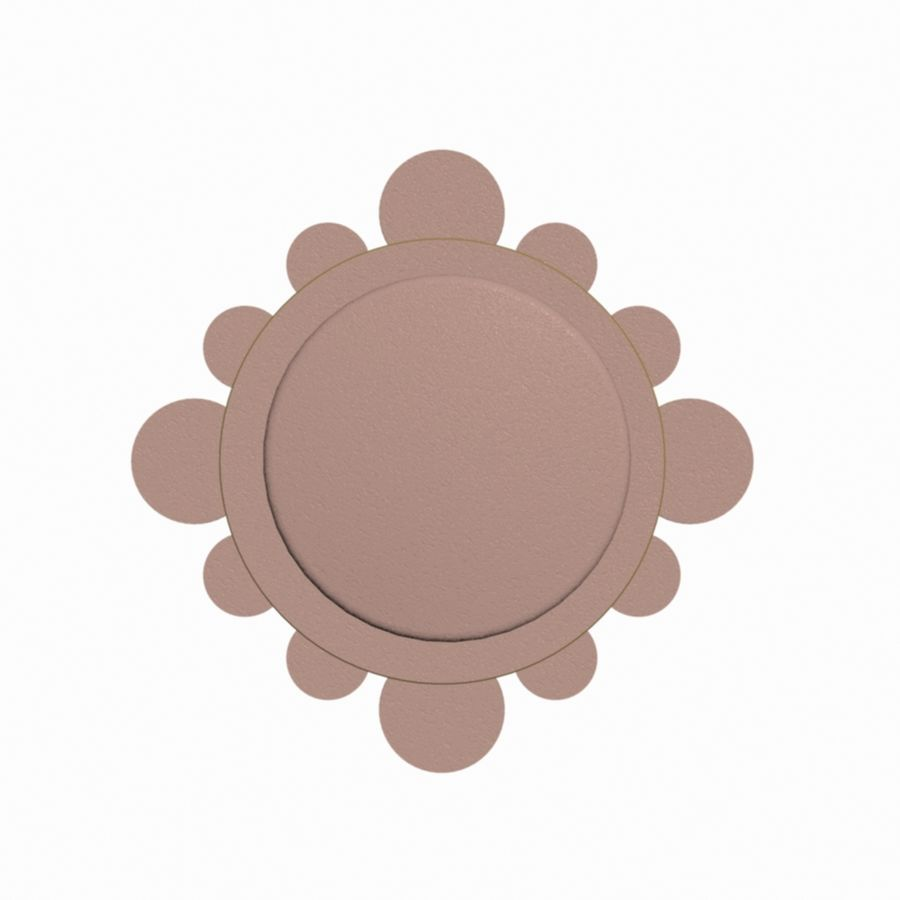 Wall Clock royalty-free 3d model - Preview no. 6
