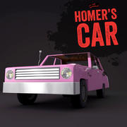 Homer Simpson Car 3d model