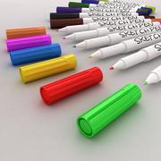 Sketch pen set modelo 3d