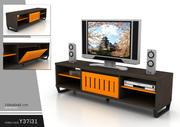 modernt TV-skåp 2 3d model