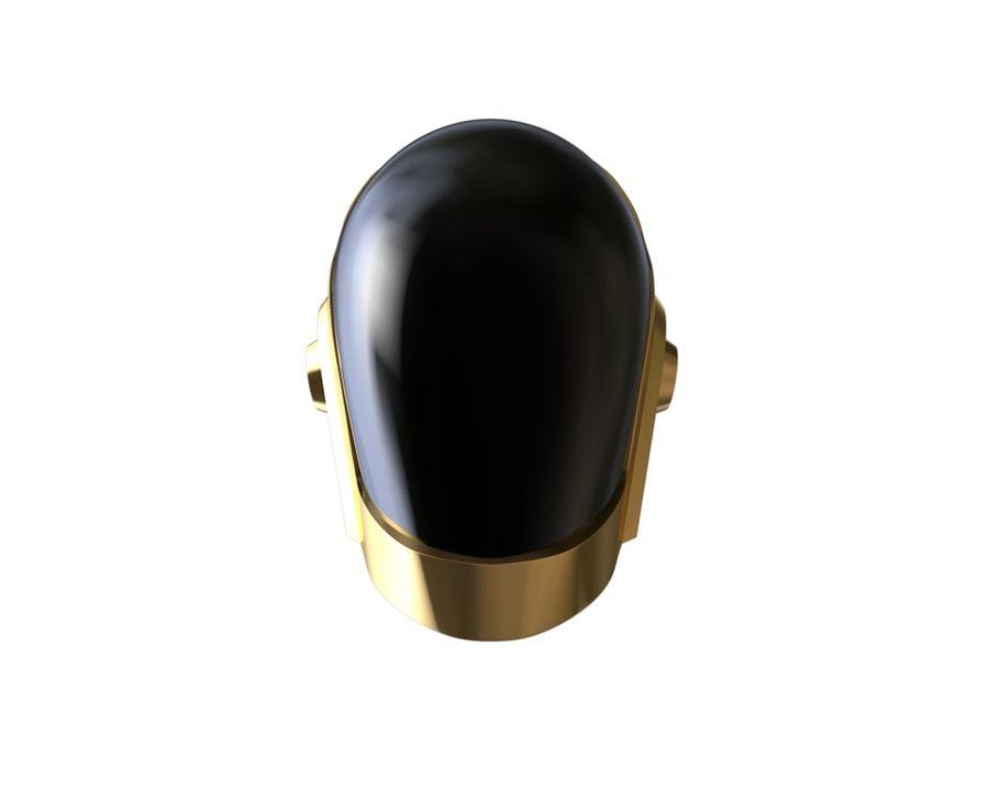 Guy Helmet - Daft Punk royalty-free modelo 3d - Preview no. 2