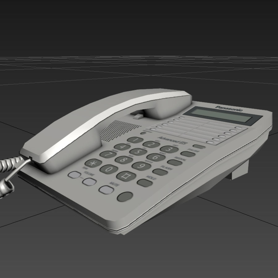 Telefone royalty-free 3d model - Preview no. 6