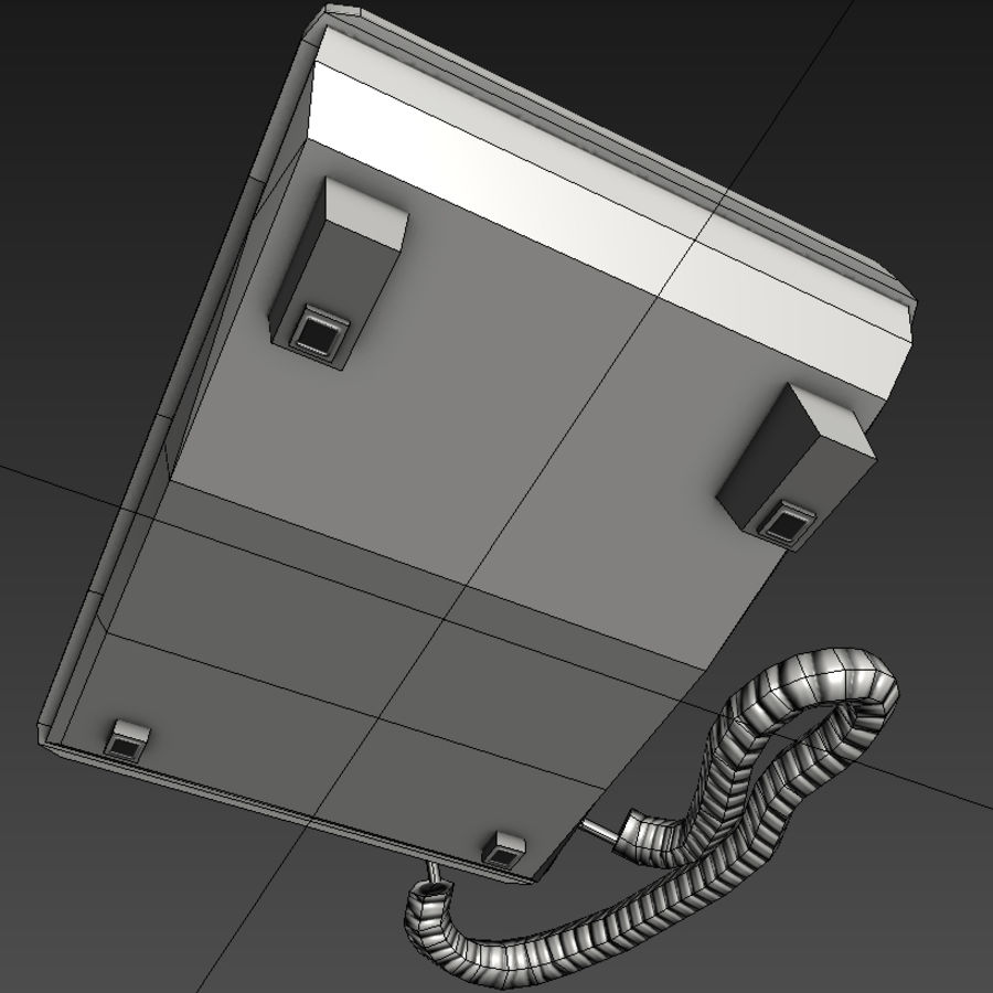 Telefone royalty-free 3d model - Preview no. 8