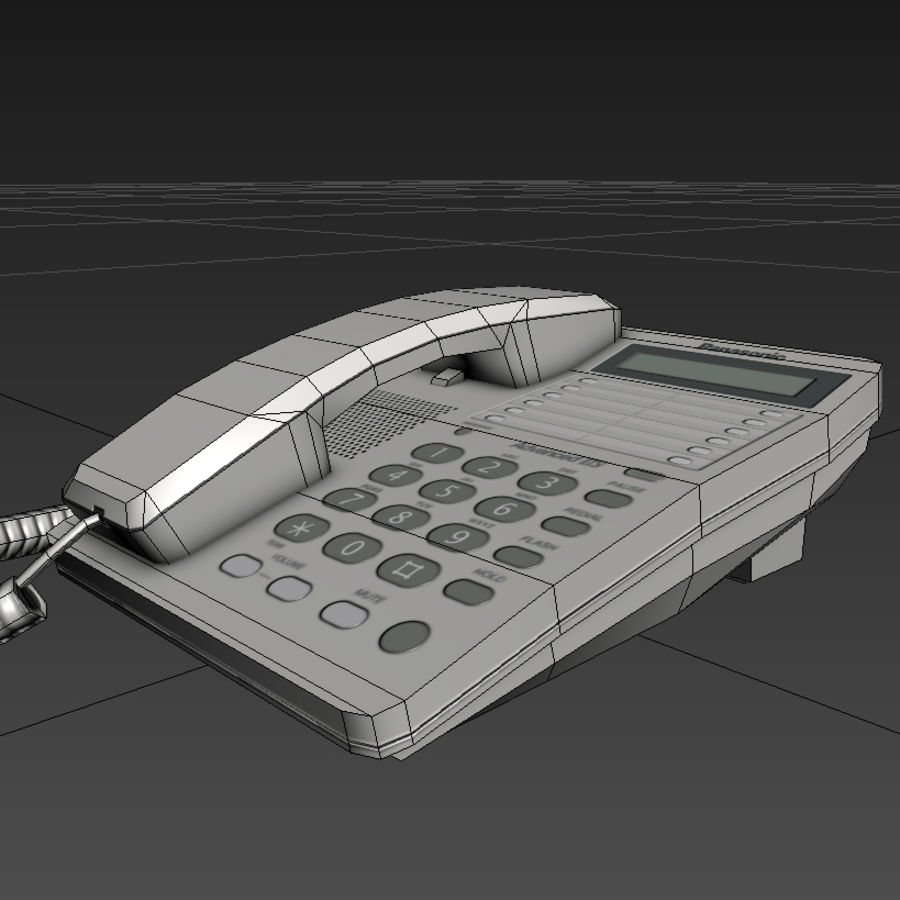 Telefone royalty-free 3d model - Preview no. 7