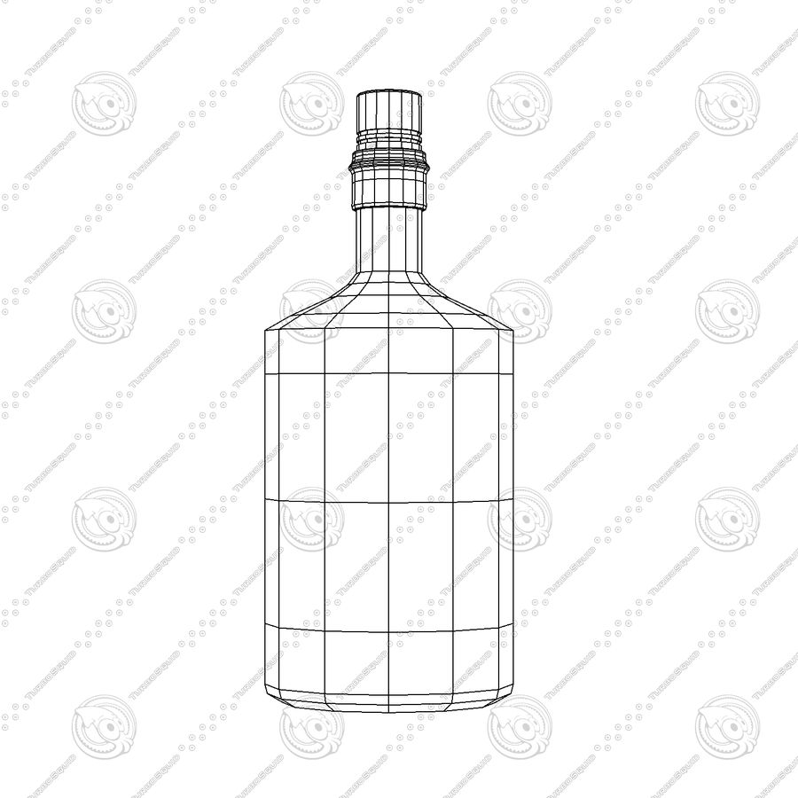 Alcohol Bottle royalty-free 3d model - Preview no. 2
