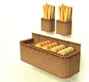 unité de boulangerie 3d model