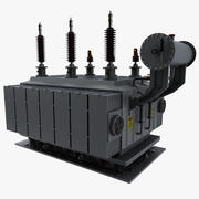 electric power transformer 3d model