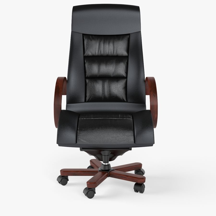 Office Boss Armchair royalty-free 3d model - Preview no. 2