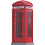 Telephone Box 3d model